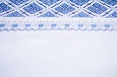 Славянская вышивка для предпосылки Стоковое Изображение