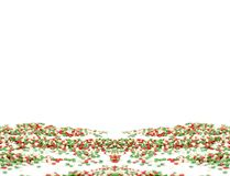 Сладкие пестротканые звезды для украшать пирожные стоковые фотографии rf