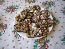 Сладкие торты рождества стоковая фотография
