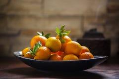 Сладкий апельсин, китайский фестиваль весны, спасибо дань, везение хиа Fu большое, стоковое изображение rf