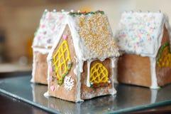 Сладкий дом имбиря стоковая фотография rf