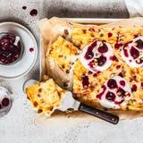 Сладкий сыр печет стоковое фото