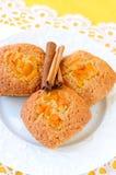 Сладостные булочки тыквы Стоковое Фото