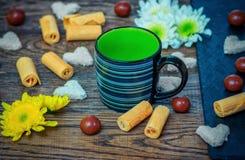 Сладостные завтрак или закуска Стоковая Фотография