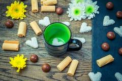 Сладостные завтрак или закуска Стоковые Фото