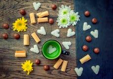 Сладостные завтрак или закуска Стоковое фото RF