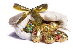 Сладостные золотистые яичка Стоковое Фото
