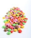 Сладостные конфеты распространяя предпосылку украшения печенья Стоковое Изображение