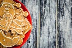 Сладостные печенья рождества Стоковое Фото