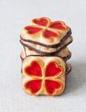 Сладостные печенья Стоковые Изображения