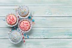 Сладостные пирожные стоковое фото rf