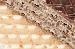 Сладостные waffles Стоковое Фото