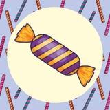 сладостный дизайн конфеты иллюстрация вектора