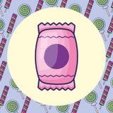 сладостный дизайн конфеты бесплатная иллюстрация