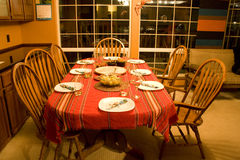 Сладостный домашний обедающий Стоковые Изображения