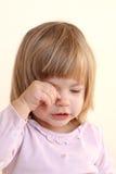 Сладостный плача ребенок Стоковые Изображения
