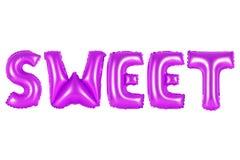 Сладостный, фиолетовый цвет Стоковое Изображение