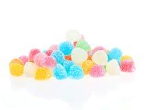 сладость студня конфеты цветастая изолированная Стоковая Фотография RF