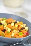Сладкий картофель и салат Apple Стоковое Изображение