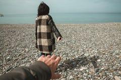 Следовать мной к морю Стоковое Фото