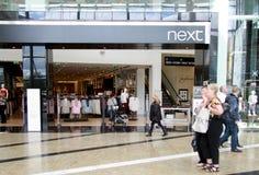 Следующий магазин в моле Стоковая Фотография RF
