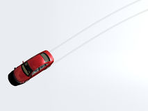 следы автомобиля Стоковое фото RF
