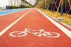 Следы бегунов и велосипедистов Стоковые Фотографии RF