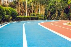 Следы бегунов и велосипедистов Стоковые Изображения