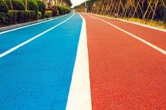 Следы бегунов и велосипедистов Стоковое Изображение RF