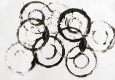 следы бумаги grunge маслообразные Стоковые Фото