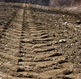 следы грязи Стоковые Фото