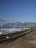 следы железной дороги Африки южные Стоковое Изображение