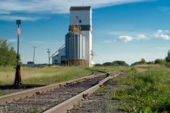 следы железной дороги прерии Стоковое Изображение RF