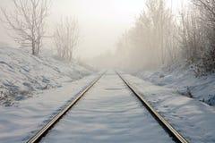 следы железной дороги стоковые изображения