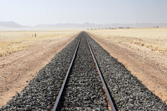 следы железной дороги Стоковое Фото