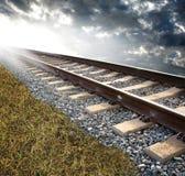 следы железной дороги
