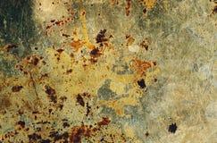 следы масла предпосылки старые ржавые Стоковое Изображение