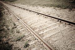 следы на запад одичалые Стоковая Фотография