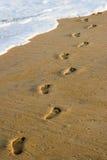 следы ноги Стоковые Фотографии RF
