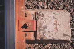 Следы поезда стоковые изображения