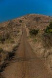 след вершины холма 4x4 Стоковые Фото