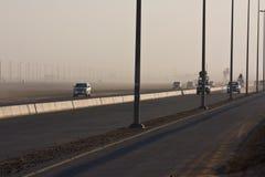 След гонки верблюда Marmoum Al Стоковые Изображения RF