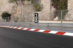 след гонки Стоковое Изображение RF