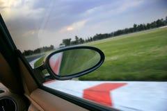 след гонки Стоковые Фотографии RF