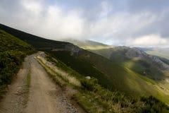 след горы Стоковые Фотографии RF