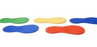 След ноги резины массажа Стоковое Изображение RF