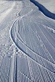 след снежка Стоковое Фото