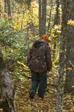 след старшия охотника оленей Стоковая Фотография RF