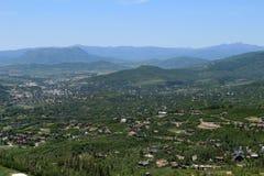 След Thunderhead, Steamboat Springs, Колорадо Стоковое фото RF