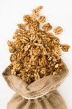 слезли грецкий орех Стоковая Фотография
